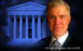 Gorsuch Promises Independence