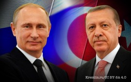 In Moscow, Erdogan Kneels To Putin